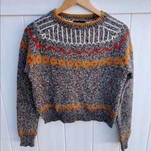 Zara Knit | Fair Isle Sweater